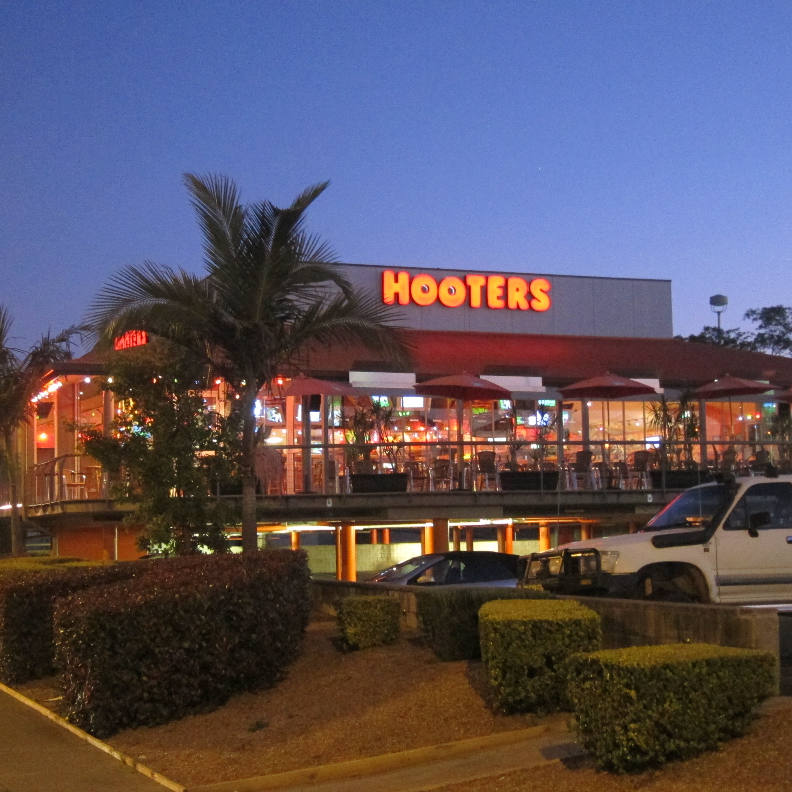 Hooters Restaurant Building To come to hooters with aHooters Restaurant Building